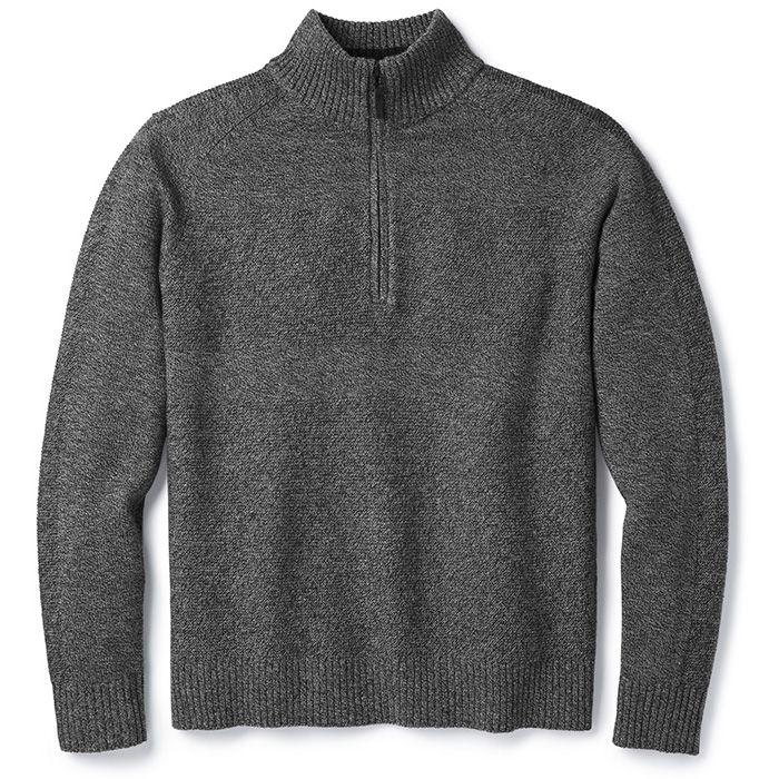 Men's Ripple Ridge Half Zip Sweater