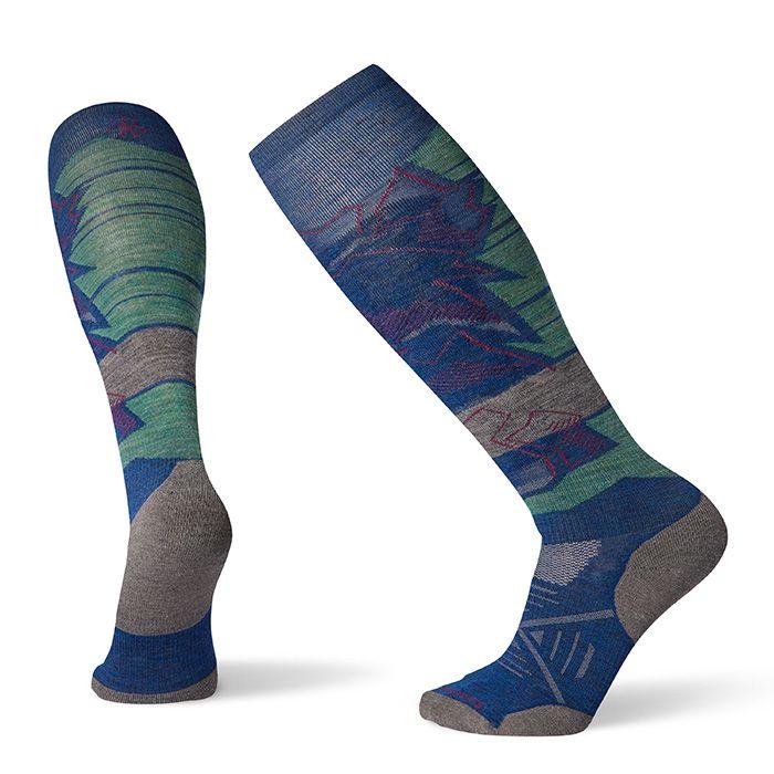Men's PhD® Ski Light Elite Pattern Socks