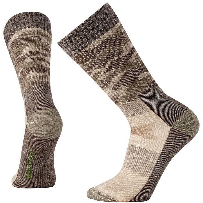 Hunt Medium Camo Crew Socks