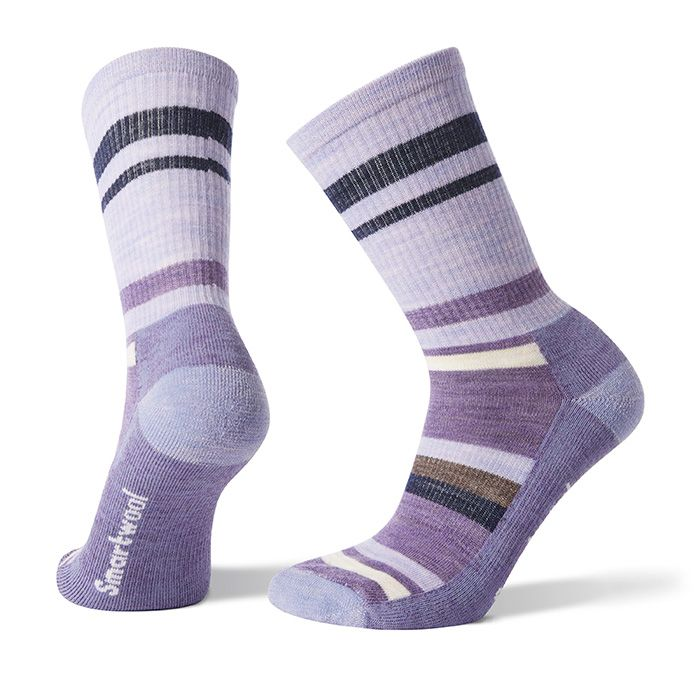 Women's Hike Striped Light Crew Socks