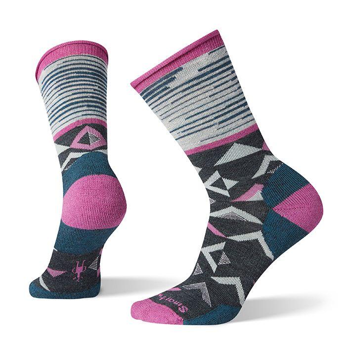 Women's Non-Binding Pressure Free Triangle Crew Socks