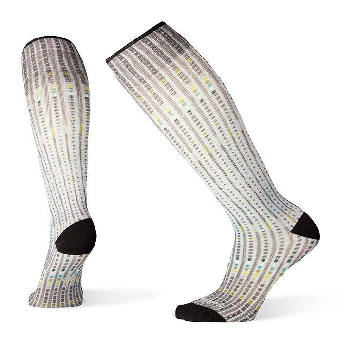 Women's Compression Virtual Voyager Print OTC Socks
