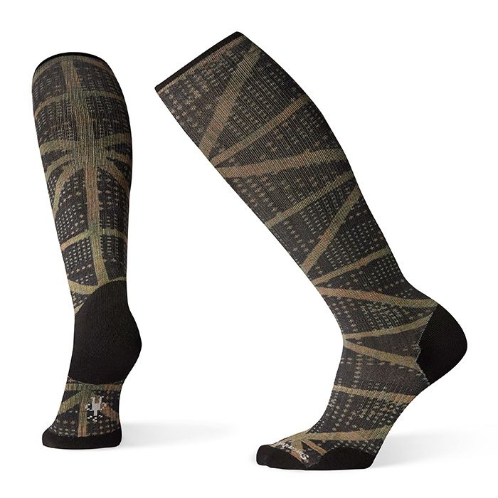Men's Compression On The Move Print OTC Socks
