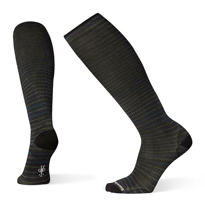 Men's Compression Cruisin' Along Print OTC Socks