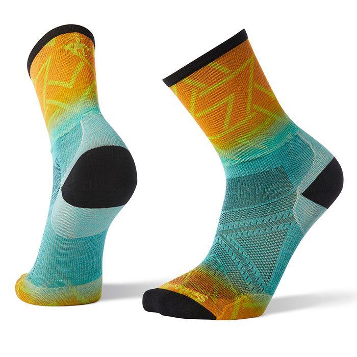 PhD® Run Ultra Light Print Crew Socks