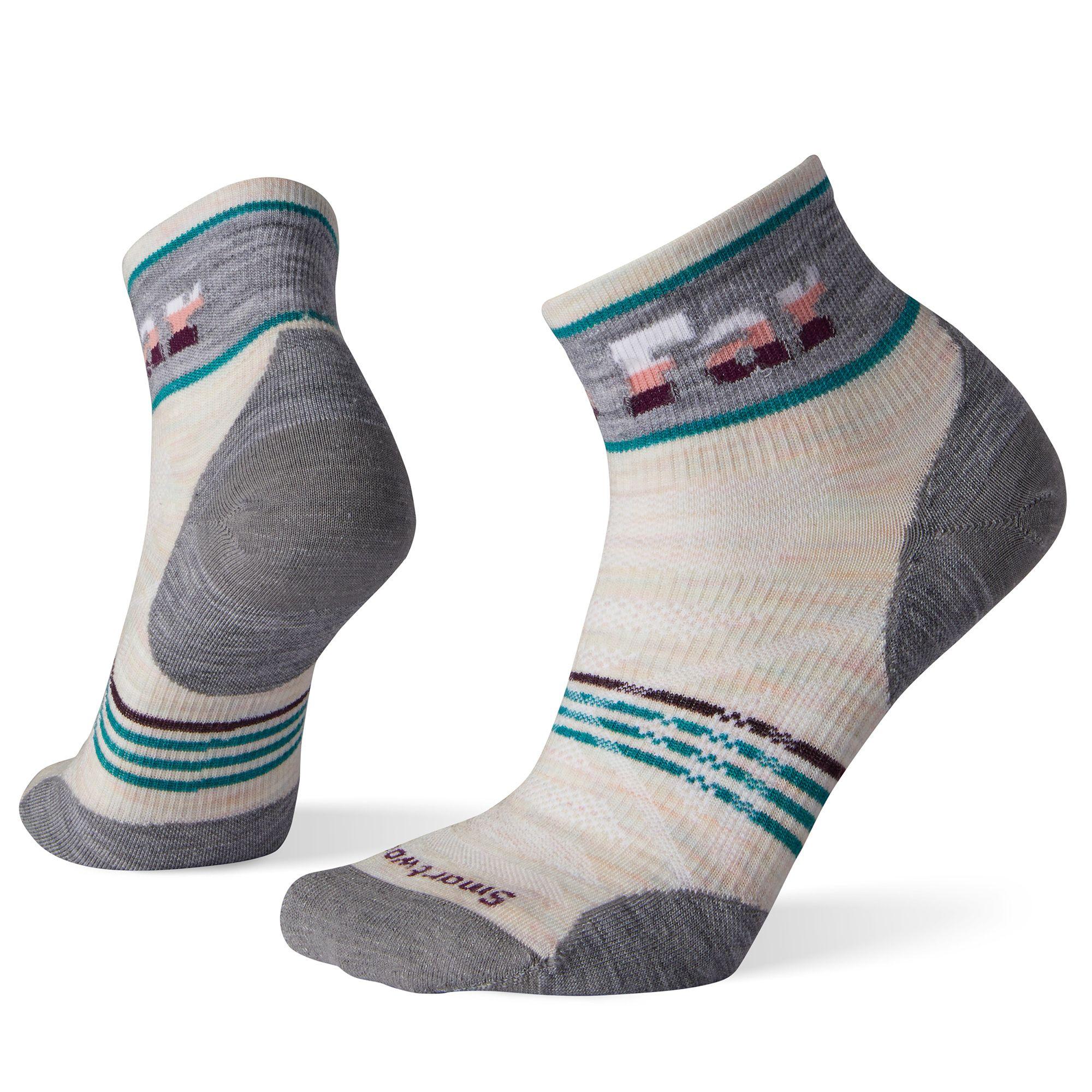 Smartwool Womens PhD Outdoor Ultra Light Pattern Mini Performance Socks