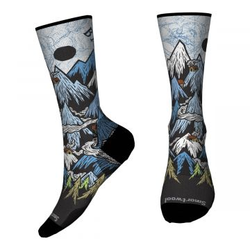 Men's Curated Banff Crew Socks