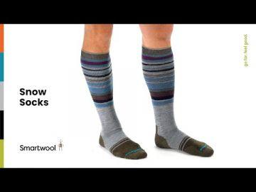 Women's Snow Full Cushion Pattern OTC Socks