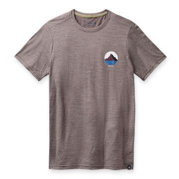 T-shirt imprimé Merino Sport 150 Two Peaks pour hommes