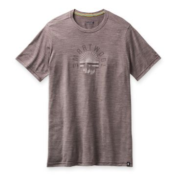 Men's Merino Sport 150 Sunrise Mountains Graphic Tee