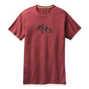 T-shirt imprimé Merino Sport 150 Rocky Range pour hommes