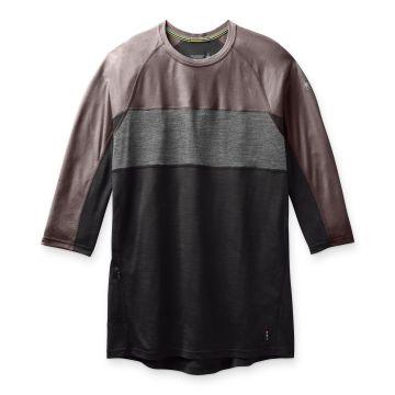 T-shirt à manches trois-quarts Merino Sport 150 Mountain Biking pour hommes