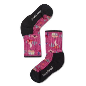 Kids' Hike Light Summer Nights Print Crew Socks