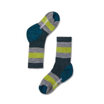 Kids' Hike Medium Striped Crew Socks