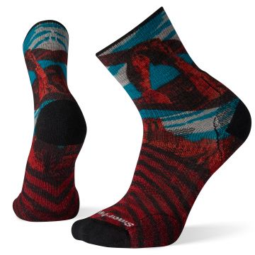 PhD® Outdoor Light Arches Print Mid Crew Socks