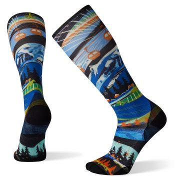 Ski Zero Cushion Skication Print OTC Socks