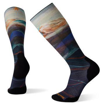 Ski Targeted Cushion Print OTC Socks