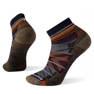 Men's Hike Light Cushion Pattern Ankle Socks