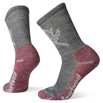 Women's Hike Classic Edition Light Cushion Leaf Pattern Crew Socks