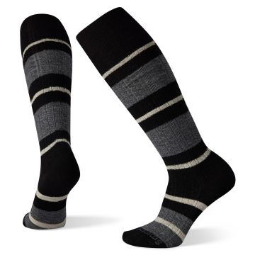 Women's Everyday Striped Cable Knee High Socks