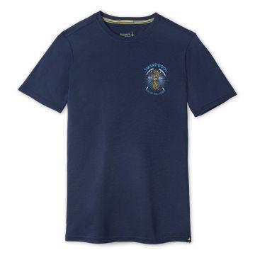 T-shirt imprimé Merino Sport 150 Ice Axe Descent pour hommes