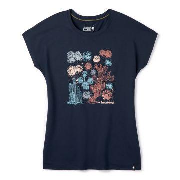 T-shirt court Merino Sport 150 Cactus pour femmes