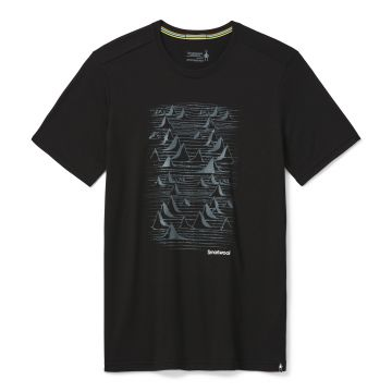 Men's Merino Sport 150 Bryan Iguchi Mountains Graphic Tee