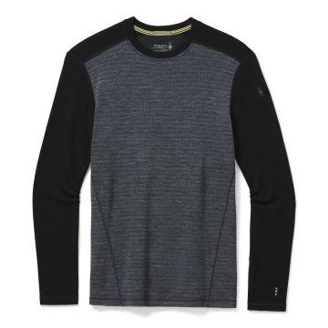 Vêtement de base à encolure ronde et motif Merino250 pour hommes