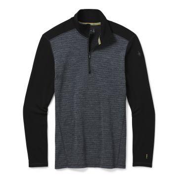 Vêtement de base à demi-glissière et motif Merino250 pour hommes