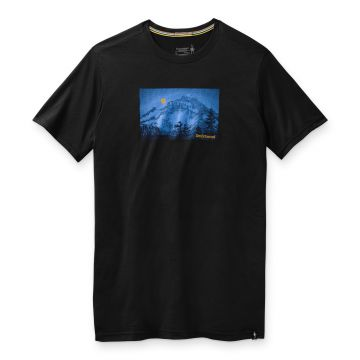 Men's Merino Sport 150 Mount Hood Moon Graphic Tee