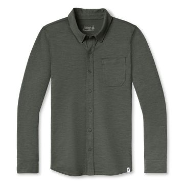 Men's Merino Sport 150 Long Sleeve Button Up