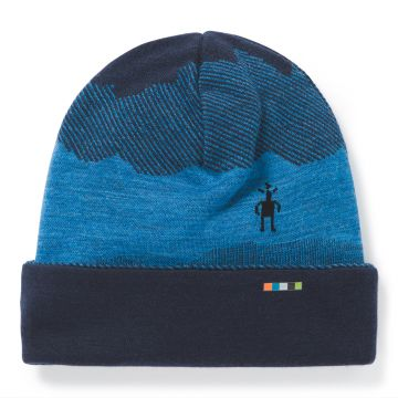 Kids' Merino 250 Reversible Pattern Cuffed Beanie