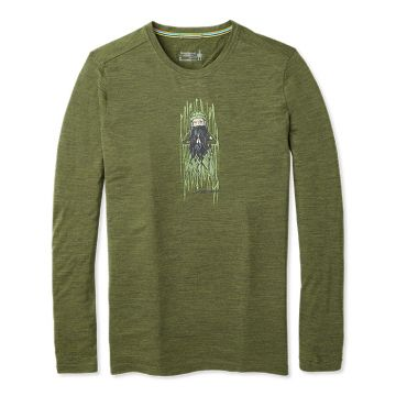 T-shirt à manches longues Merino Sport150 Old Man Winter pour hommes