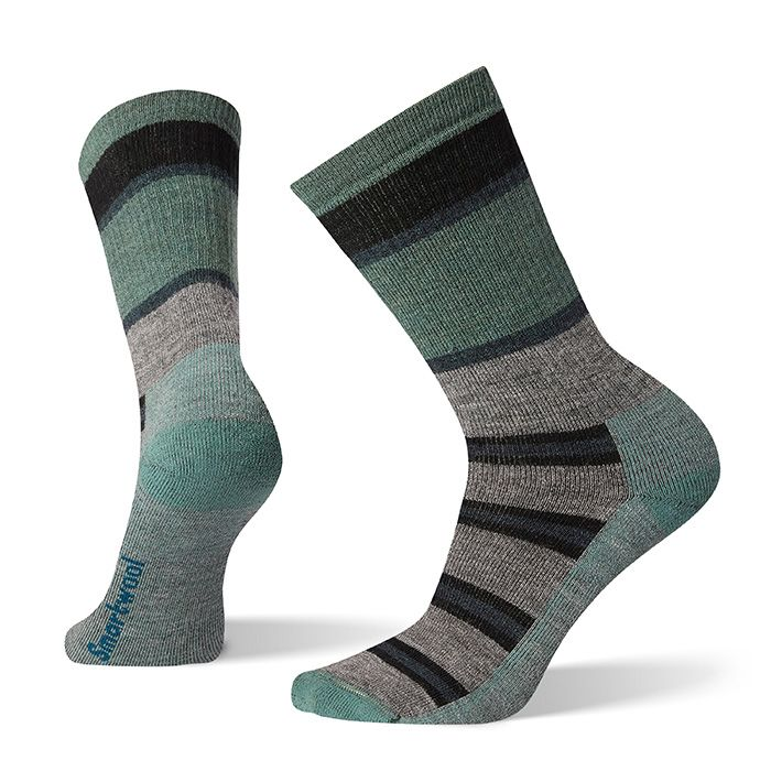 Hike Medium Striped Crew Socks