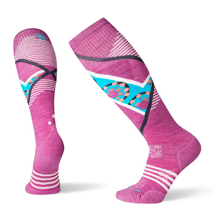 Women's PhD® Ski Light Elite Pattern Socks