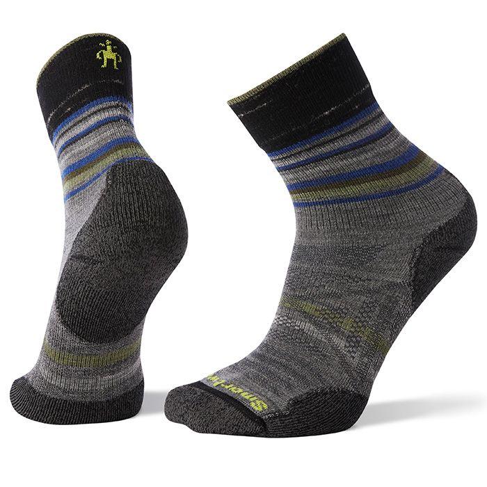 PhD® Outdoor Light Pattern Mid Crew Socks