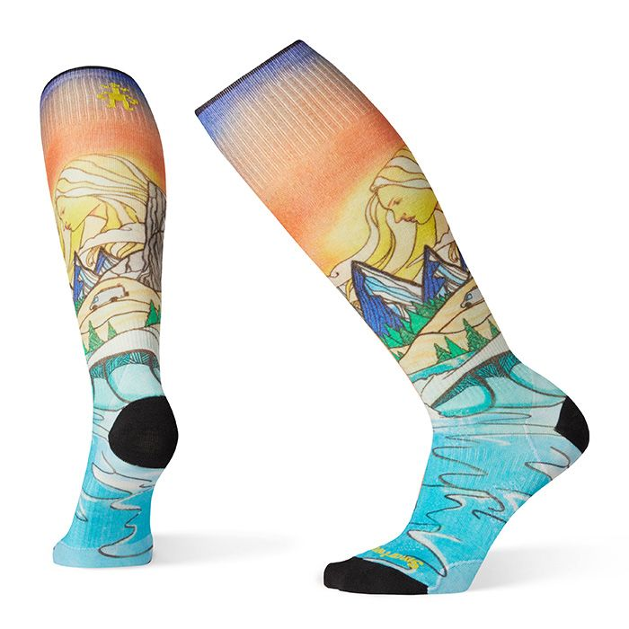 Women's PhD® Ski Ultra Light Lifecycle Print Socks