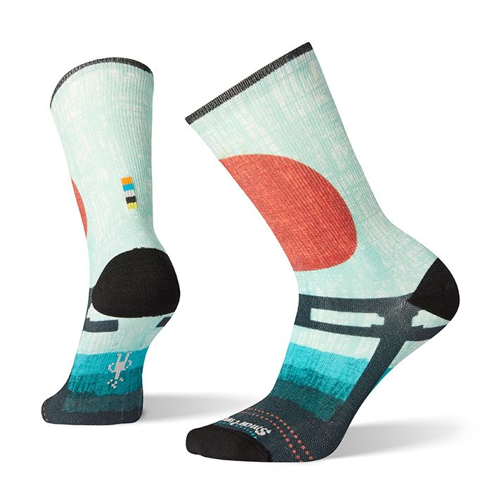 Women's Curated Torii Gate Crew Socks