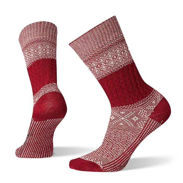 Women's Garter Stitch Texture Crew Socks