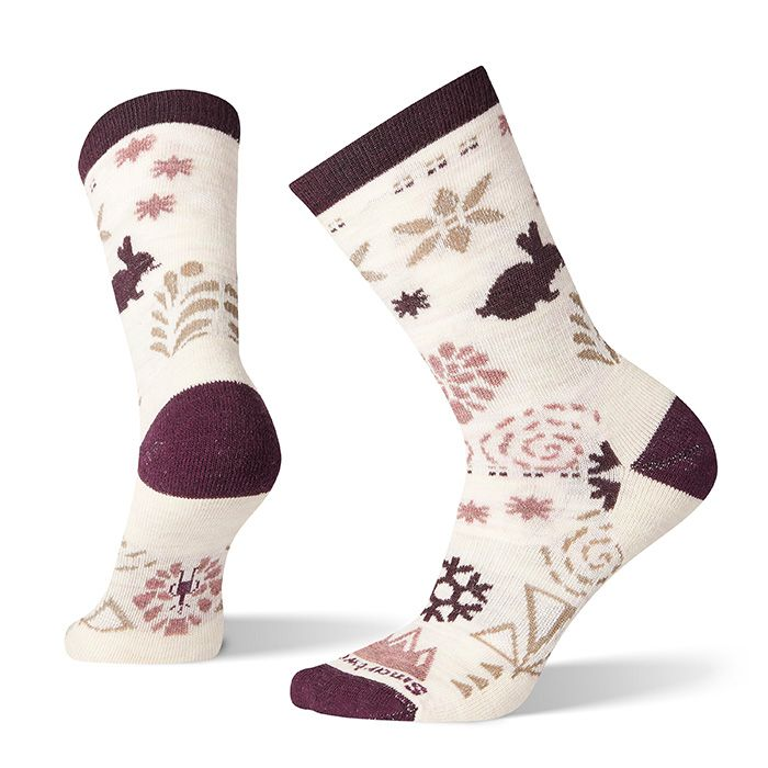 Women's Bunny Slope Crew Socks