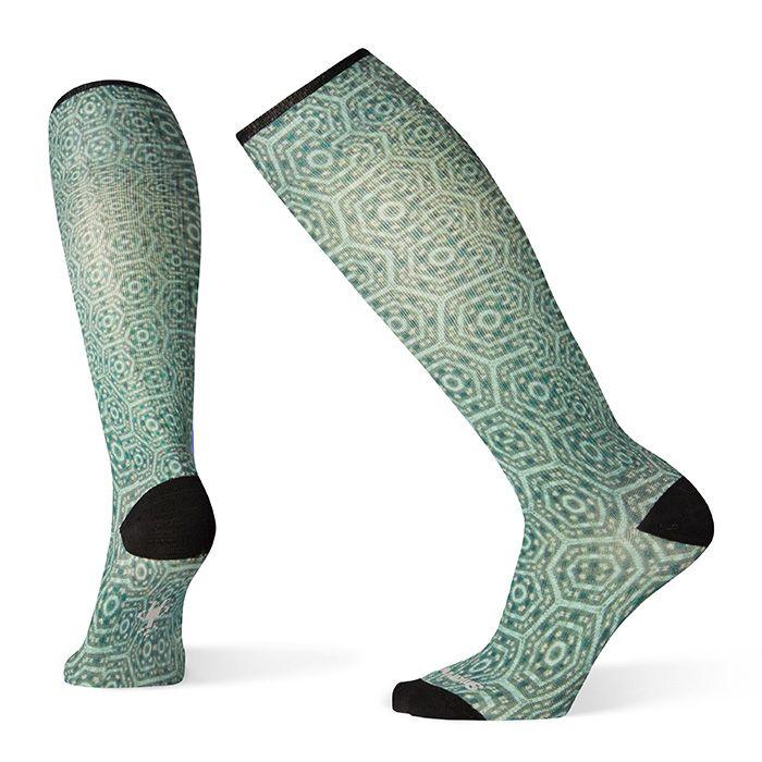 Women's Compression Hexa-Jet Print OTC Socks