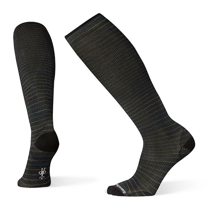 Men's Compression Cruisin' Along Print OTC Socks