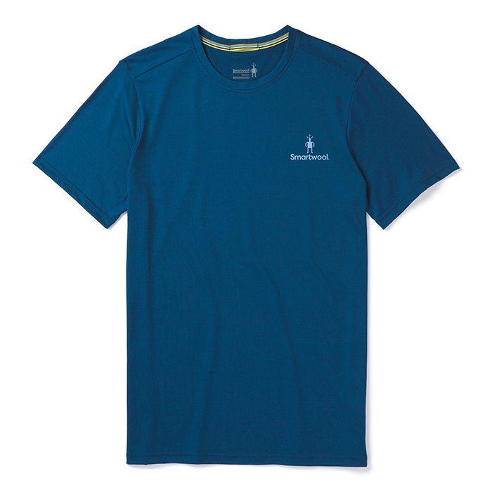 T-shirt Merino Sport 150Logo pour hommes