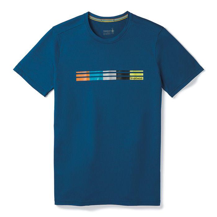 T-shirt Merino Sport150 Flag Logo pour hommes