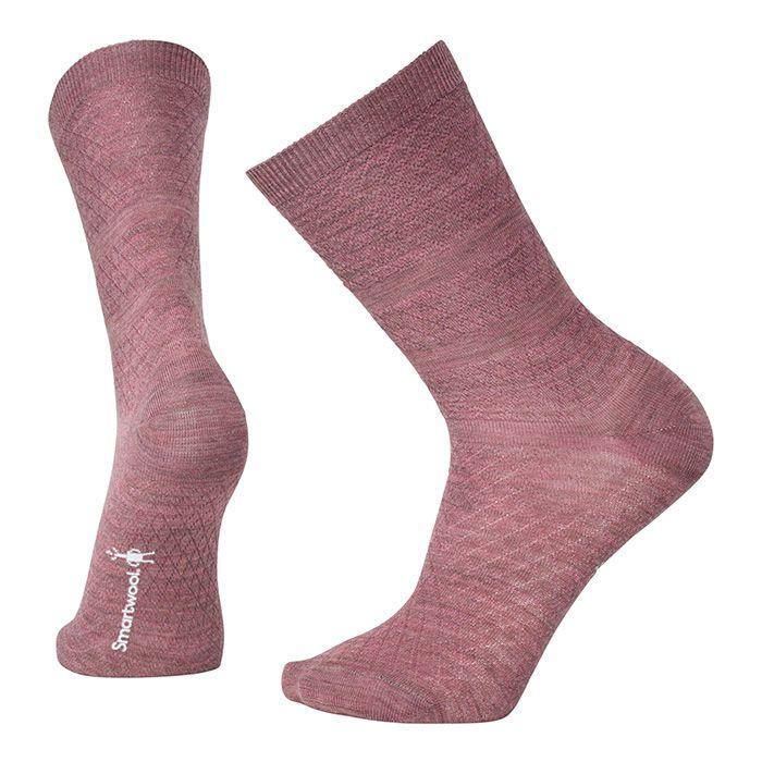 Women's Texture Crew Socks