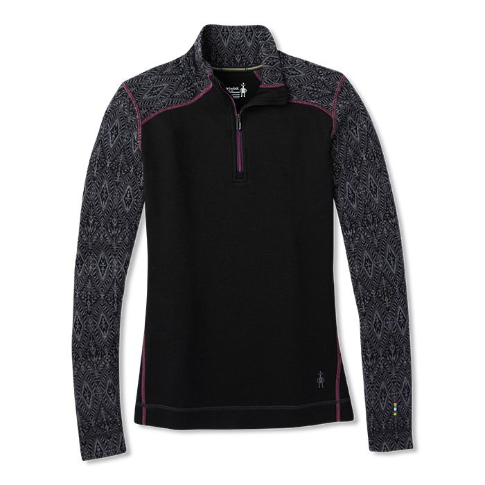 Women's Merino 250 Baselayer Pattern 1/4 Zip Boxed