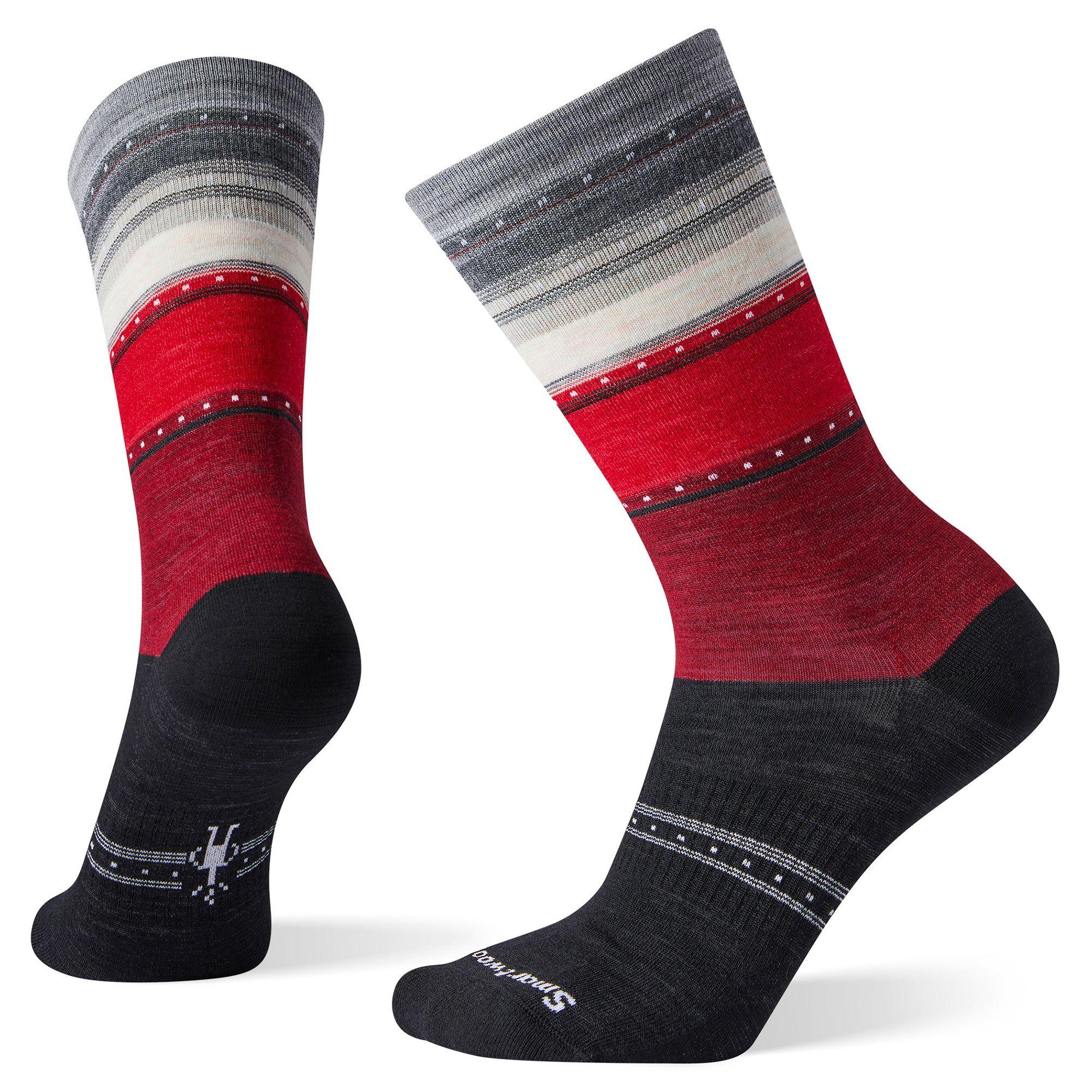 Women's Sulawesi Stripe Crew Socks