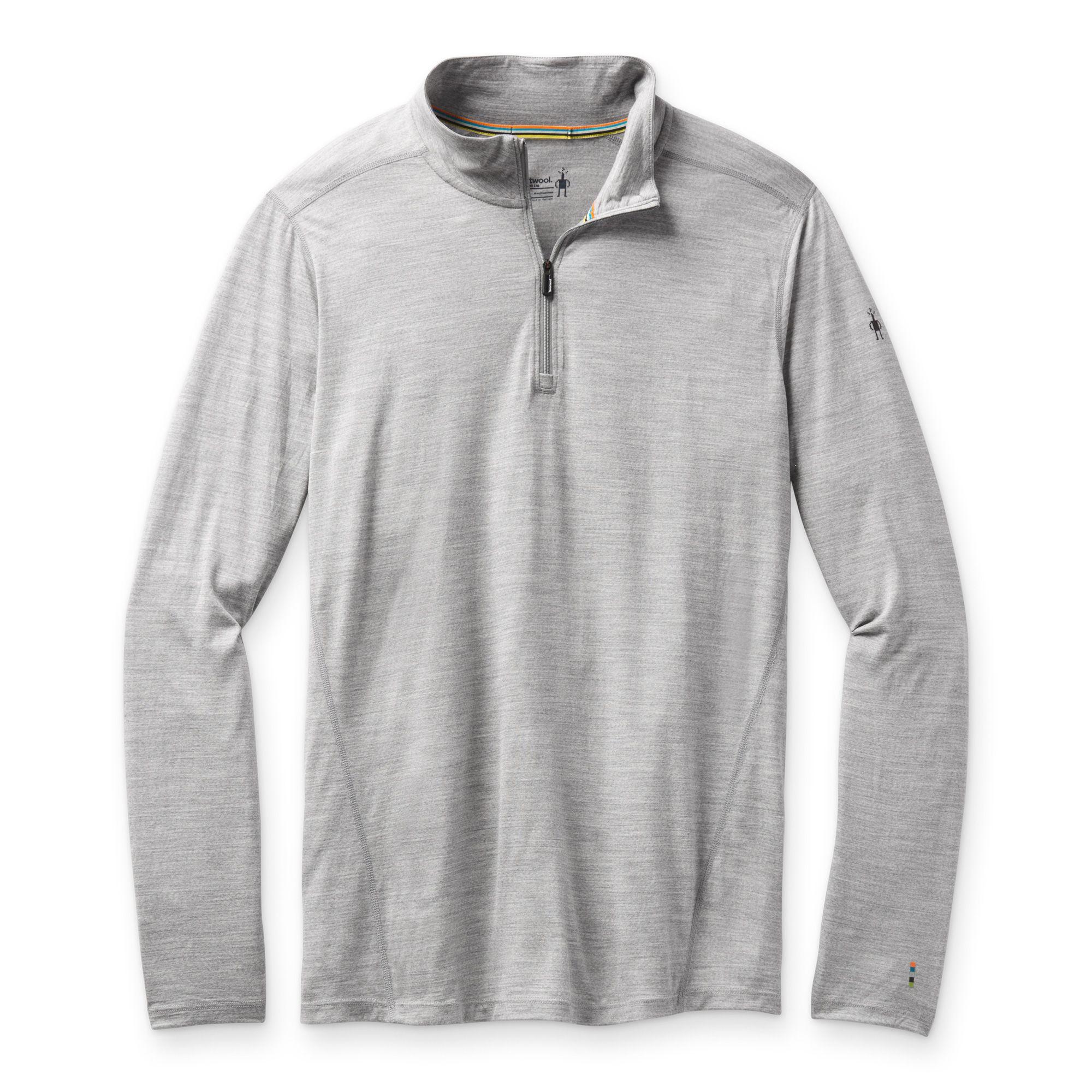 Vêtement de base à demi-glissière Merino150 pour hommes
