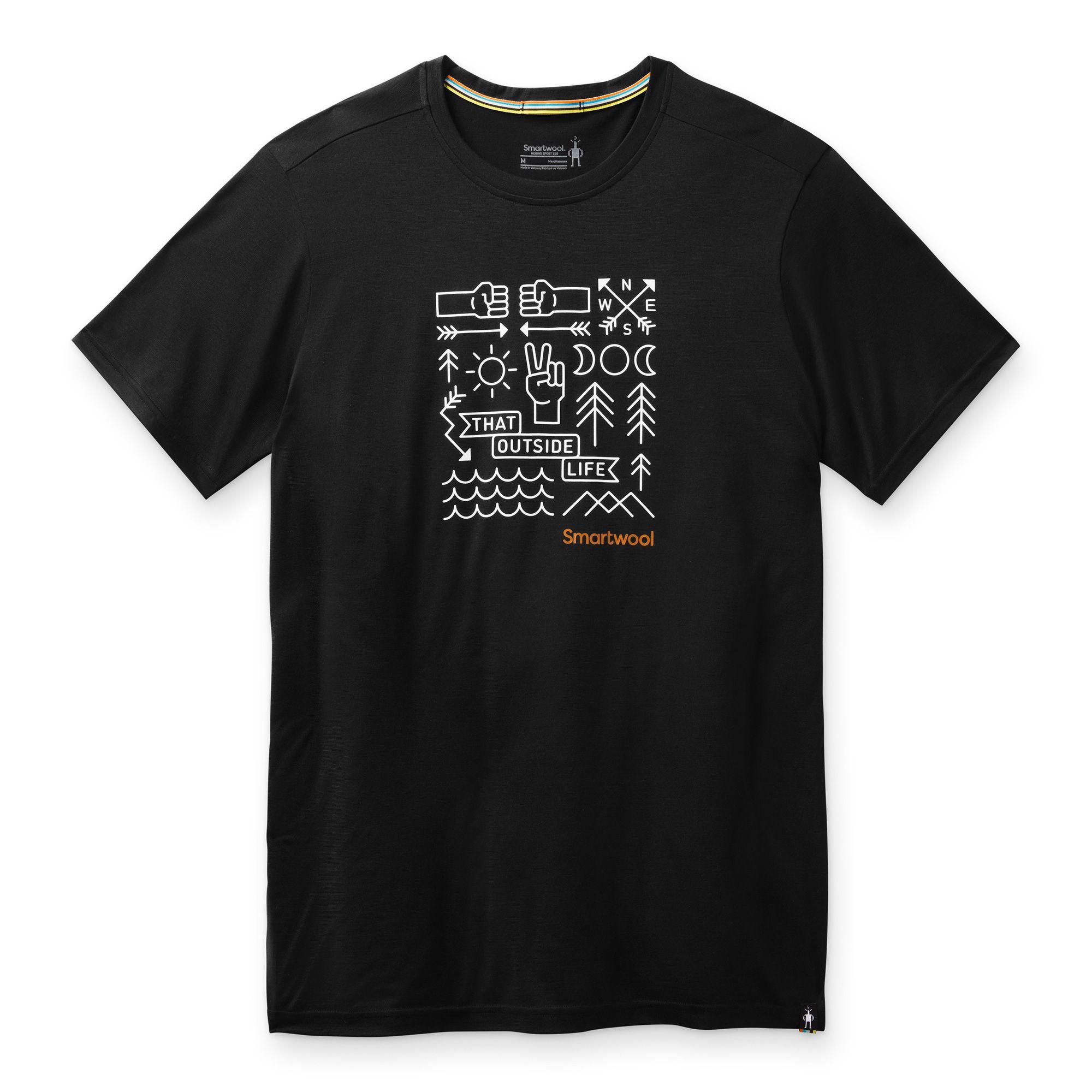 T-shirt imprimé Merino Sport 150 Park Vibes pour hommes