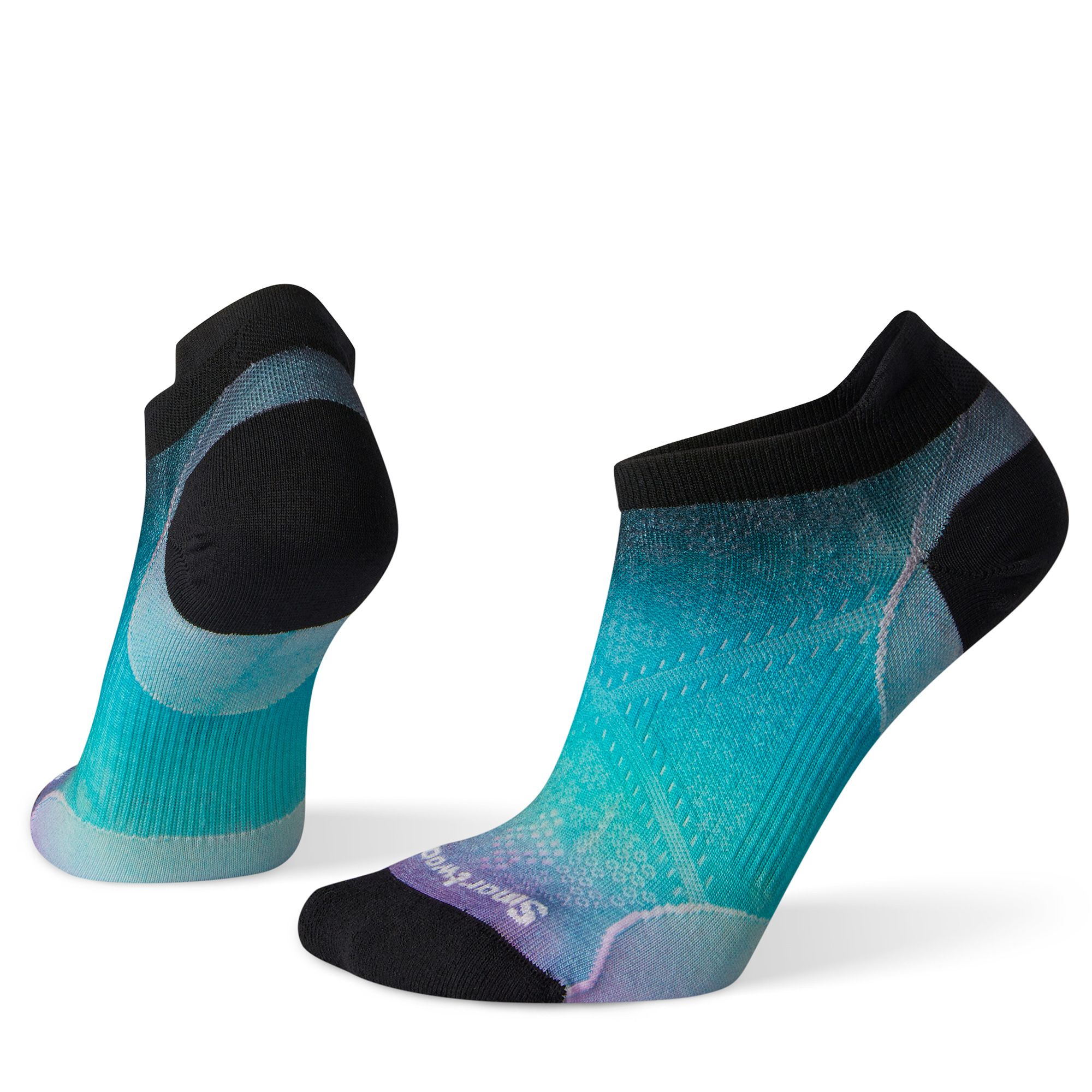 Women's PhD® Run Ultra Light Ombre Print Micro Socks